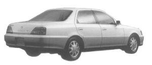 Toyota Cresta 2.5 EXCEED G 1997 г.