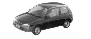 Toyota Starlet REFLET 3DOOR 1997 г.