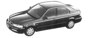 Honda Domani 16X 1997 г.