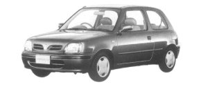 Nissan March 3DOOR 1000 COLLET 1997 г.