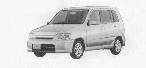 Nissan Cube X 1999 г.
