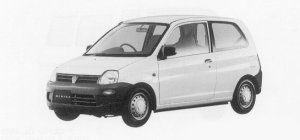 Mitsubishi Minica Cf-2WD 1999 г.