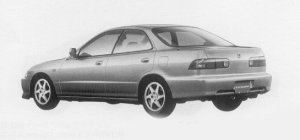 Honda Integra 4DOOR HARD TOP SiR-G 1999 г.