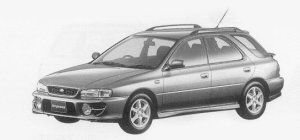 Subaru Impreza SPORTS WAGON SRX 1999 г.