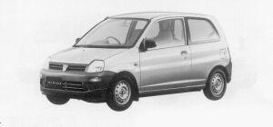 Mitsubishi Minica Ce-4WD 1999 г.