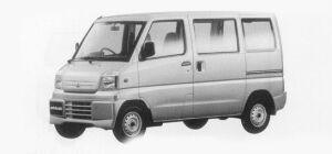 Mitsubishi Minicab VAN CD 2WD STANDARD ROOF 1999 г.