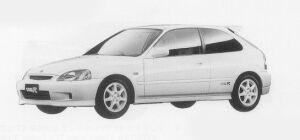 Honda Civic TYPE R 1999 г.
