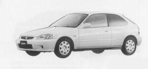 Honda Civic VTi 1999 г.