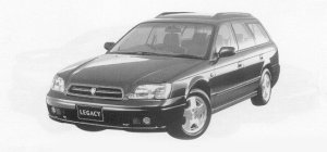 Subaru Legacy TOURING WAGON 250T EP SUSPENSION 1999 г.