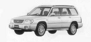 Subaru Forester T/25 1999 г.