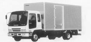 Isuzu Forward DRY VAN 205PS 4.0T 1999 г.