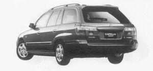 Mazda Capella Wagon SE 2WD 1999 г.