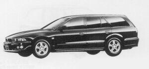 Mitsubishi Legnum 24 VIENTO TYPE-X 1999 г.