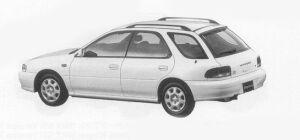 Subaru Impreza SPORTS WAGON C'Z 1999 г.