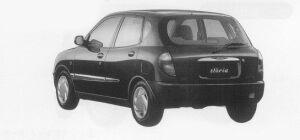 Daihatsu Storia CX-LIMITED 4WD 1999 г.