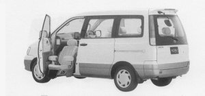 Toyota Townace NOAH, WELCAB, LIFT-UP PASSENGER SEAT CAR 1999 г.