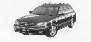 Subaru Legacy TOURING WAGON BRIGHTON-S 1999 г.