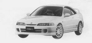 Honda Integra 3DOOR COUPE TYPE R 1999 г.