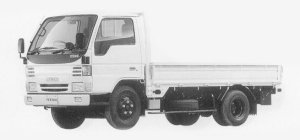 Mazda Titan 3T FULL WIDE&LOW Standard Cabin, 4.3L DX 1999 г.
