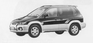 Mitsubishi RVR SPORTS GEAR X3 1999 г.
