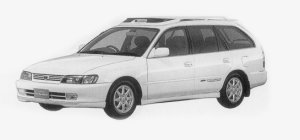 Toyota Corolla Wagon BZ TOURING 1999 г.