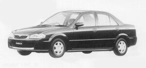Mazda Familia SEDAN JS 1999 г.