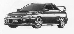 Subaru Impreza Pure Sports Coupe WRX Type R STi Ver. VI 1999 г.