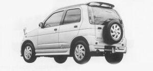Daihatsu Terios KID AERO DOWN 1999 г.