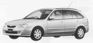Mazda Familia S-WAGON R-4 1999 г.