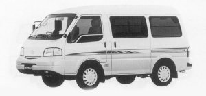 Mazda Bongo VAN LOW FLOOR 2WD HIGH ROOF, GL SUPER 1999 г.