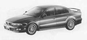 Mitsubishi Galant VR-4 TYPE-S 1999 г.