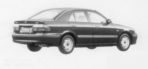 Mazda Capella Ci 1999 г.