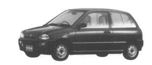 Subaru Vivio 3DOOR VAN ef-S 1995 г.