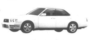 Nissan Gloria V30 Twincam Turbo Gran Tourismo Ultima 1995 г.