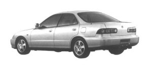 Honda Integra 4 door HardTop SiR-G 1995 г.