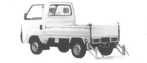 Honda Acty Truck LIFTER W 4WD 1995 г.