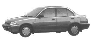 Daihatsu Charade Social SE 4WD 1995 г.