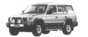 Mitsubishi Pajero Midroof Wide G II 1995 г.