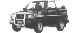 Daihatsu Rocky Canterbury X 1995 г.