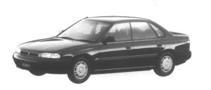 Subaru Legacy Touring Sedan 2WD LX 1995 г.