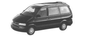 Nissan Largo 2WD SX-G Gasoline 2400 1995 г.