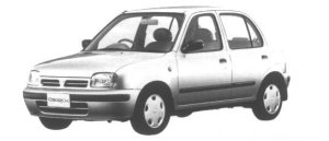 NISSAN MARCH 1995 г.
