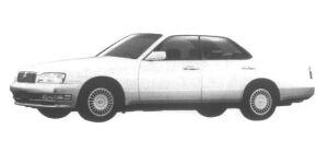 Nissan Gloria V30E Brougham 1995 г.