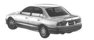 Mitsubishi Galant V6 2000 24V Viento Touring 1995 г.