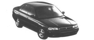 Subaru Legacy Touring Sedan 2WD Brighton GOLD 1995 г.