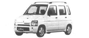 Mazda AZ-Wagon ZV Turbo 1995 г.