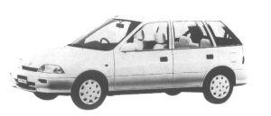 Suzuki Cultus 5 door 1300 G 1995 г.