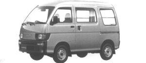 Daihatsu Hijet VAN SUPER DELUXE 4WD 1995 г.