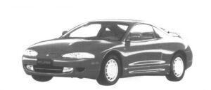 Mitsubishi Eclipse  1995 г.