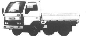 Mazda Titan 2T HIGH FLOOR, DOUBLE, STANDARD CAB&BODY 1995 г.